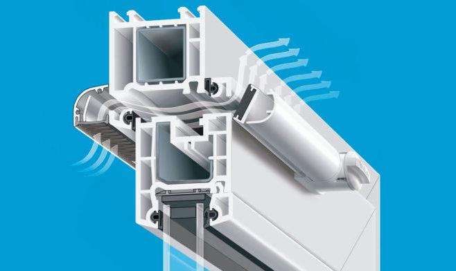 Вентиляционный клапан для окон