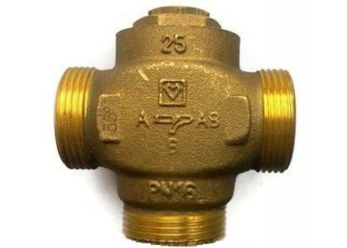 Металлический корпус трехходового клапана