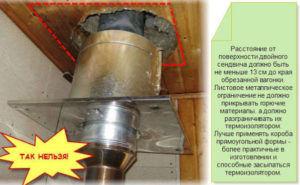 Нормы пожаробезопасности дымохода