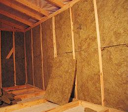 утепление стен в гараже