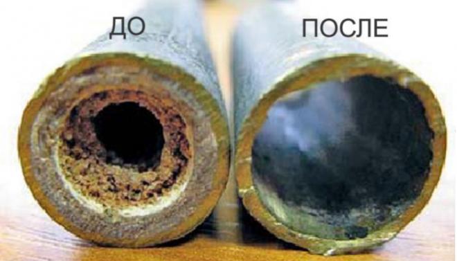 Чистка теплообменника газового котла