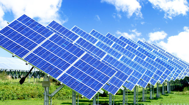 Солнечные электростанции с батарейными установками